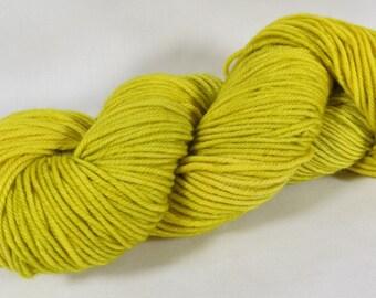 Hand Dyed Yarn, Worsted, Merino, Indie Dyed Knitting, Brightness
