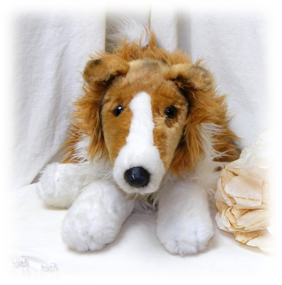ADORABLE COLLIE by Animal Alley  . . . Marked 50% Off