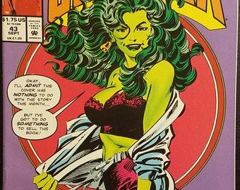 The Sensational She-Hulk #43 (1992) Comic Book