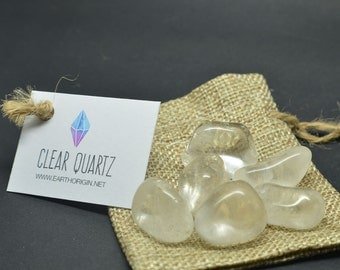 Clear Quartz bag -  for grid - CQBAG01
