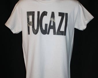 fugazi repeater band t-shirt punk 80s 1980s retro hardcore minor threat