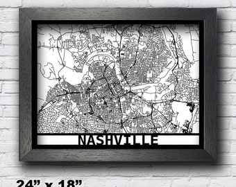 Nashville Wall Art nashville custom art | etsy