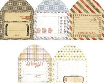 7Gypsies: Postale Envelopes, 10 count