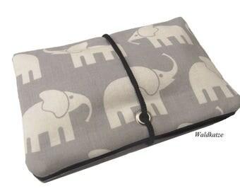 Tobacco bag / pouch / Leno bag * elephant *.