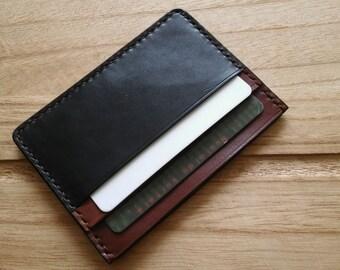 """Handmade leather wallet """"Minimalist"""""""