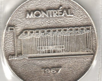 1967 Montreal/United Nations Centennial Medal