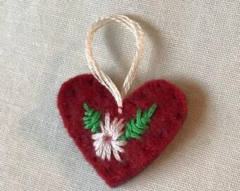 Mini Felt Heart