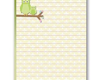 Cute Owls Notepad - 2 Notepads - B35069