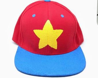 Steven Universe Steven Design Snapback // Crystal Gems Steven Universe Hat Believe in Steven Fandom Snapback Hat Garnet Amethyst and Pearl