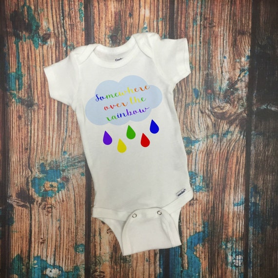 Rainbow baby baby bodysuit baby clothes baby shower gift