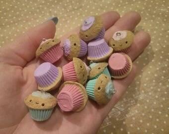 Hand-made cupcake charm