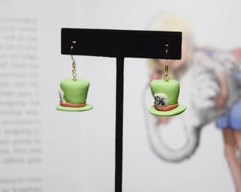 The Mad Hatter Earrings