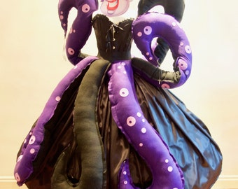 New Year's eve Party! Women's Ursula Seawitch inspired Costume Villain Party, Various Sizes