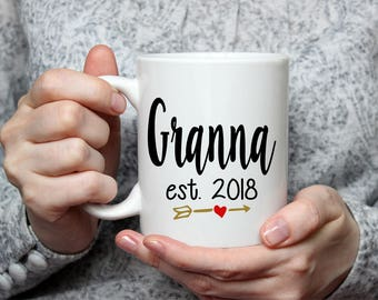 Granna Coffee Mug - Pregnancy Announcement - Birthday Gift