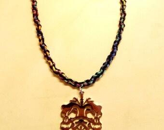 Handmade Twiztid Rainbow Hemp Necklace