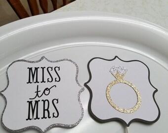 Wedding centerpiece, wedding centerpiece sticks, bridal shower centerpiece sticks, bridal shower decorations