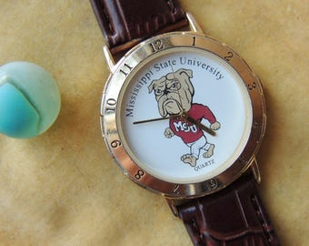 Vintage Mississippi State Bulldogs Watch