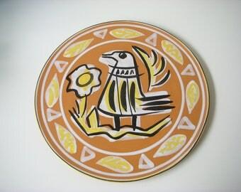 LE CORRE Quimper Keraluc mid century large pottery