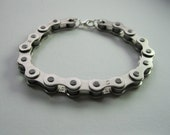 Chunky Bike Chain Bracelet / Cycling Jewellery / Bicycle Bangle / Gifts for cyclists / triathlon gifts / cycling bling