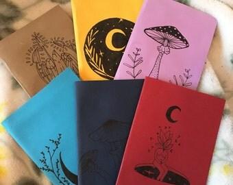 Assorted pocket notebooks