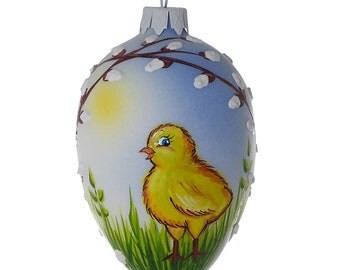 First Spring Glass Easter Egg