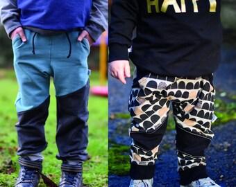 MBJM Joggers Bundle - High Kick Harem and Double Trouble (prem./small newborn - age 12)