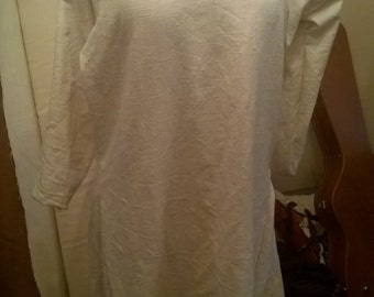 Fully hand sewn early Medieval pure linen Tunic kyrtle Suitable for Viking and Saxon Re-enactment or Larp