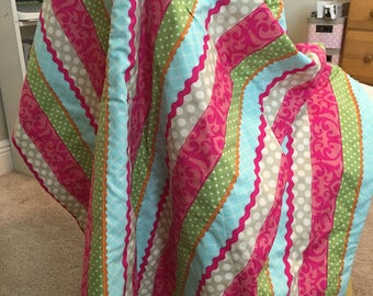 Bright and Cheerful Toddler Blanket