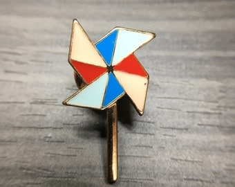 Color Pinwheel Pin Child's Toy Badge Accessories for Women Brooches_057