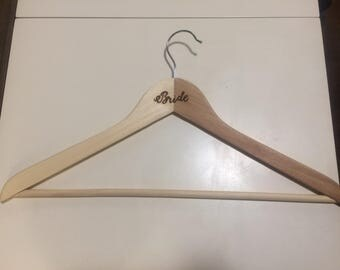Bride Wooden Hanger