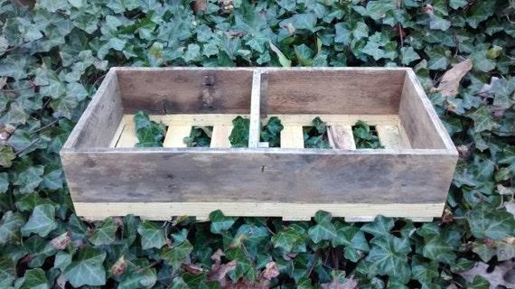 "Weathered Wood Shelf Crate, 20"" x 10"" x 4.75, Ships next day, wood crate, rustic wall shelf, wood gift, wood storage shelf, decorative shelf"