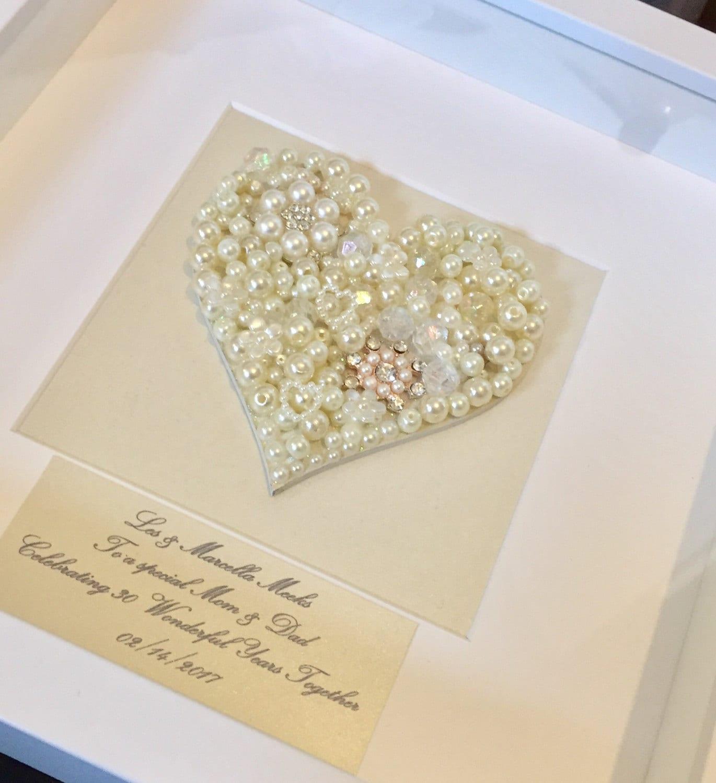 Gift For 30 Wedding Anniversary: 30th Pearl Wedding Anniversary Gift Pearl Wedding Anniversary