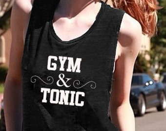 Gym & Tonic Muscle Tee