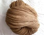 Native Australian Eucalyptus Dyed Cormo Yarn. 4 Ply Fingering Weight, Large 300g 10.5oz Hank.