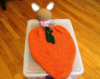 Carrot cacoon photoprop, costume