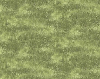 Quail Green Grass from Andover by the yard