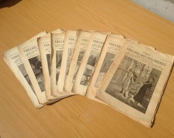 Old magazine the vigils of the 105 numbers cottages 58th year 1934 1935