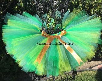 Green Tutu/ St. Patrick's Day Tutu/ Fairy Tutu/ First St Patrick's Day Tutu