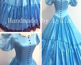 Handmade - Alice in Wonderland Alice Dress, Alice Costume Adult/kid Available