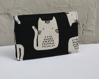 Cat Card Holder/ Snap Card Holder / Business Card Holder