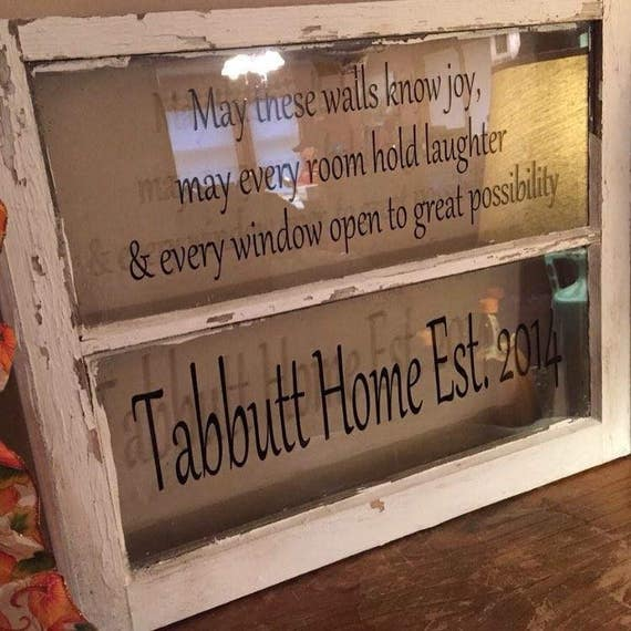 Foyer Window Quotes : Pane window frame wedding picture quote on
