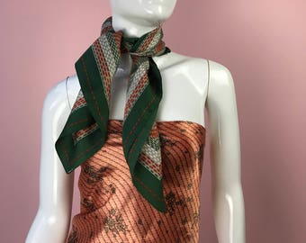 Vintage Dotted Scarf