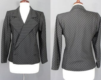 Ungaro Jacket........80's/90's Pinstriped Ungaro Suit Jacket