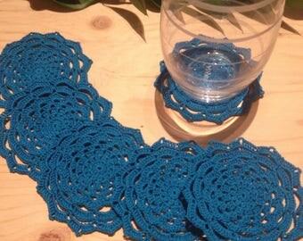 Crochet lace coaster/ dolies