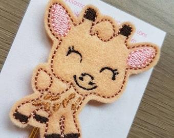 Cute Giraffe Paper Clip