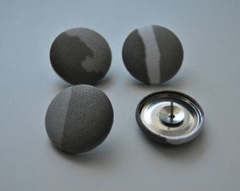 Covered button push pins/magnets (size 45-1 1/8, 27mm)