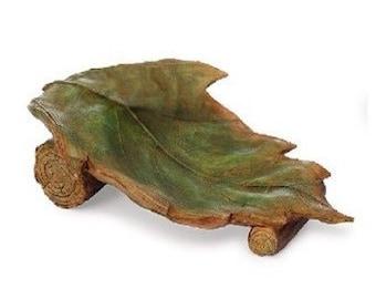Fairy Garden  - Leaf Lounge - Miniature
