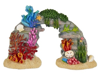 Fairy Garden  - Coral Reef with Sea Life - Miniature