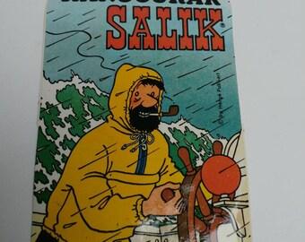 Kangourak Salik Captain Haddock promotional sticker