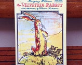 The Velveteen Rabbit by Margery Williams & illustrated by William Nicholson, Hardback, 1975